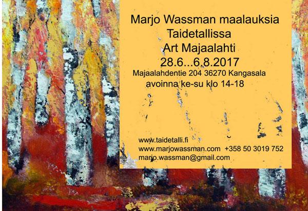Art Majaalahti, Kangasala 2017