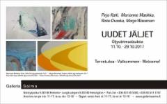 Uudet jäljet, Galleria Saima 11.10-29.10.2017
