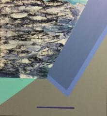Ansa, 2018 sekatekn kankaalle 59 x  65 cm