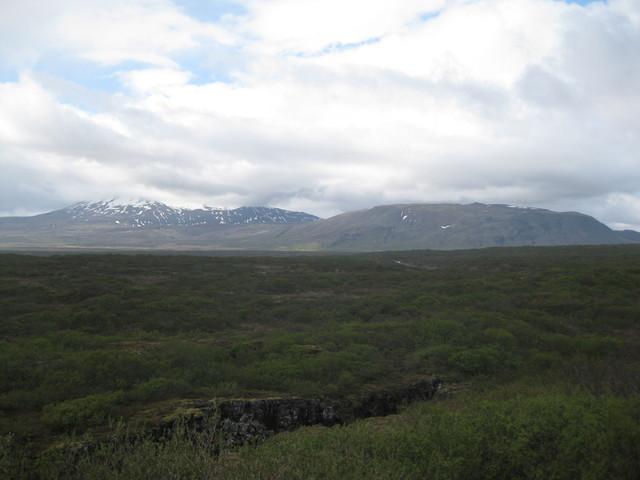 Islantia matkalla geysirille