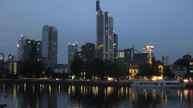 Frankfurt by night