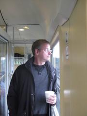 junassa jossainpäin Saksaa