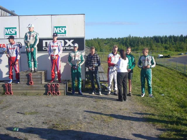 RMC Oulu 2014 palkintojenjako 6. sija