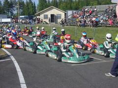 Oulun 2014 RMC:n sunnuntain finaali valmiina starttiin 29.6.2014
