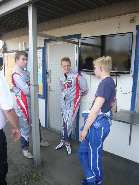 Markus, pauli Hakulinen ja Henri Lehtonen (oik)