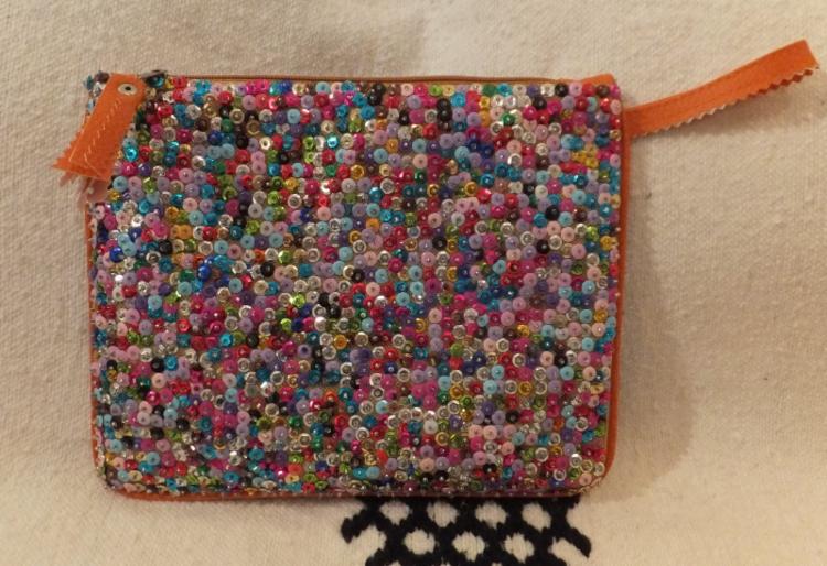 Oranssi Käsilaukku : K?silaukku useita v?rej? marrakech