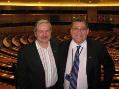 Martti Timo Soinin vieraana Brysselissä
