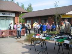 Martin vaalikahvit Punkalaitumen torilla 12.5.2011
