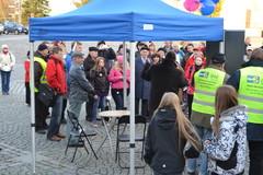 Timo Soini Tampereen Suurtorilla 22.10.2012