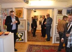 Taidenäyttelyn avajaiset 20.3.2015  Art Pispala Tampere