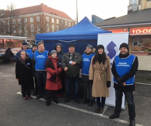 Tammelan tori Tampere 1.12.2018