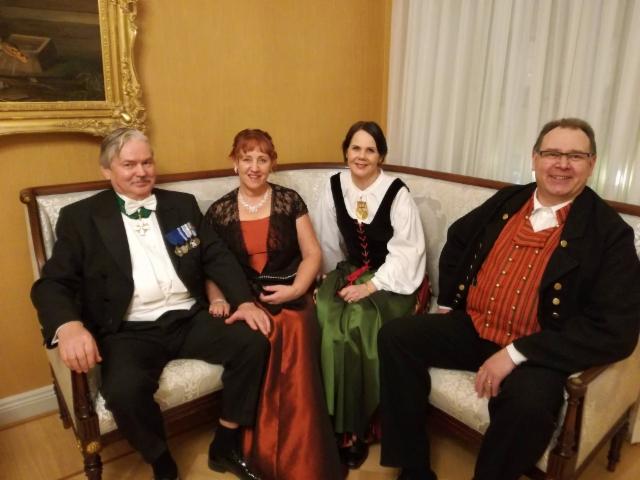 Martti, Reijo Hongisto ja daamit 6.12.2018