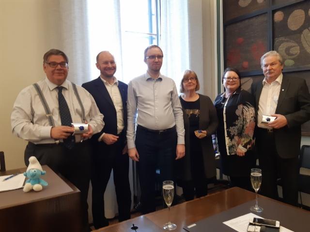 Viimeinen eduskuntaryhmän kokous14.3.2019