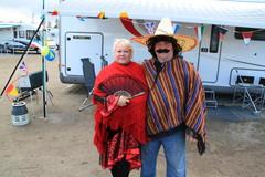 Mies mehikosta ja hänen naisensa