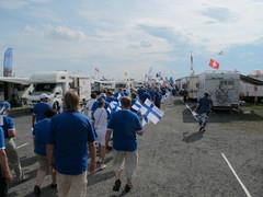 Suomalaiset marssilla
