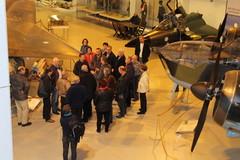 Vierailijoita kiinnosti ilmailumuseon koneet
