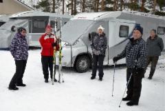 Kerrankin talvipäivillä pääsi hiihtämään