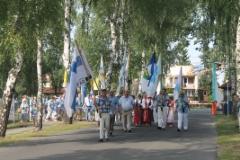 Tässä suomalaiset marssirivistössä