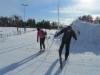 Sää suosi ja hyvät ladut houkuttivat hiihtämään