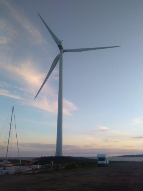 Tuulivoimala Hailuodossa