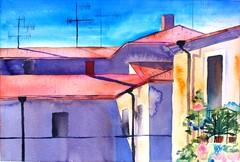 Minna Sartes: Gironan katedraalin rappusilla