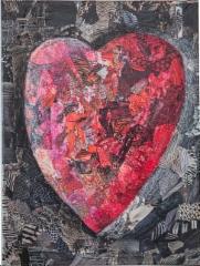 54. Suuri punainen sydän (80 €)