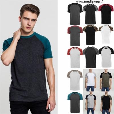 Raglan Kontrasti T-paita painatuksella 1118be8855