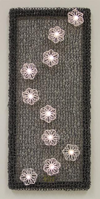 kukka seinätekstiili
