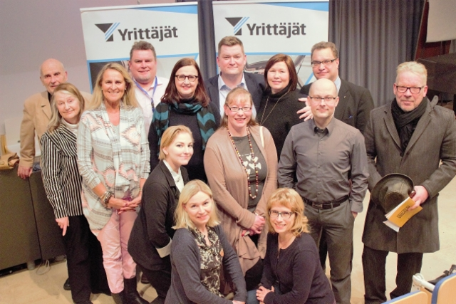 Yrittäjien kuntavaali-illassa mukana 9.2.2017