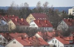 Onnelantien ja Kymintien taloja