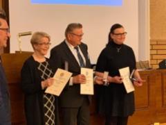 Kokoomuksen 100-vuotisjuhlamitallin saajat Hämeessä