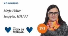 Merja Vahter, kuntavaaliehdokas