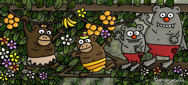 viidakkotyypit