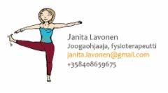 Janita Lavonen, käyntikortti