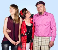 Lainan perhe: Laina, Nella ja Stewart
