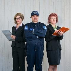 Adoptioasiamies, poliisi ja sosiaalitarkkaaja