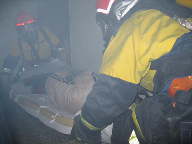 Evakuointia savussa