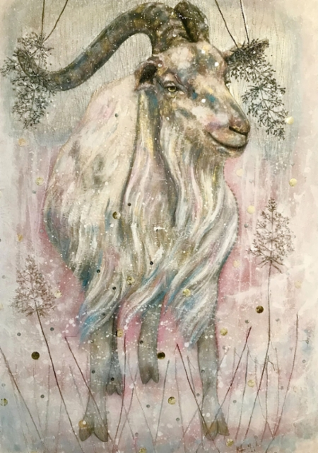 White goat, 2021.