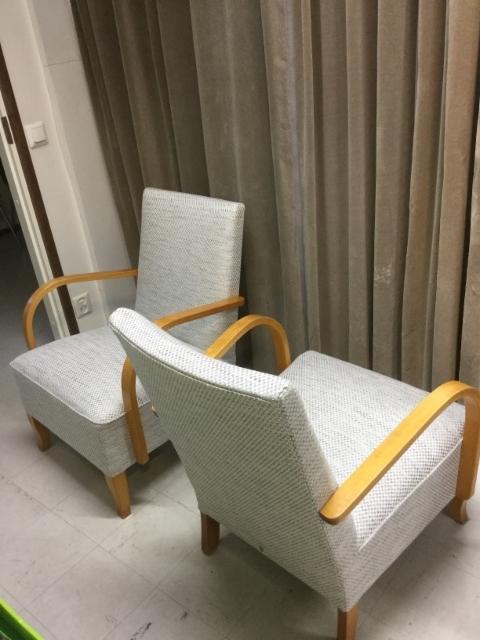 K-tuoli MR, uusi verhoilu