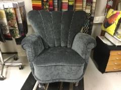Täysin uusittu perinteinen nojatuoli