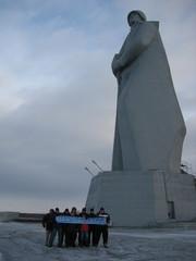 Korkeus 42m katselee kaihoisasti Suomeen...