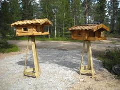Linnun ruokinta automaatit