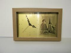 Kellotaulu+kirkko laserilla
