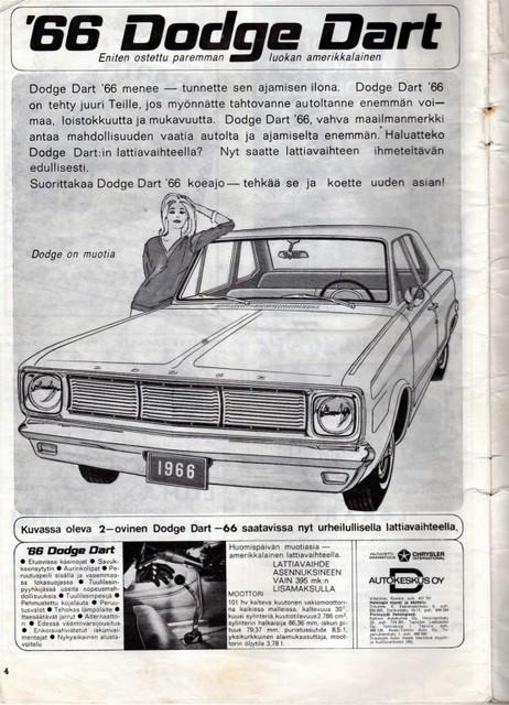dodge dart -66