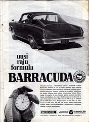 plymouth barracuda -66