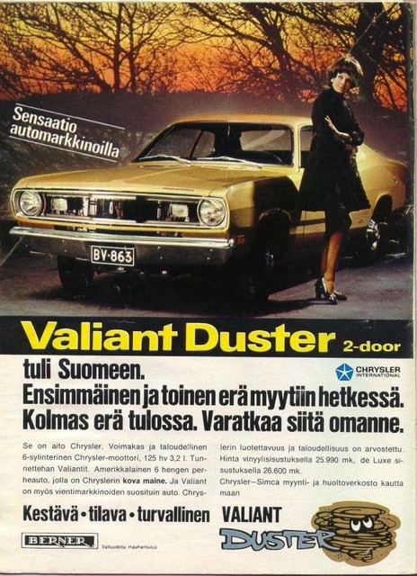 plymouth duster -70