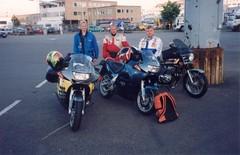 09-1998 to sweden enduro wc-race marko tarkkala, tapsa luttinen, jysky