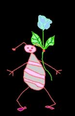 bugandflowerblack
