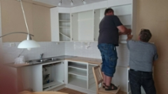 Eurajoen reissulta saatiin uusi keittiö