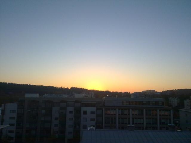 Auringonnousu